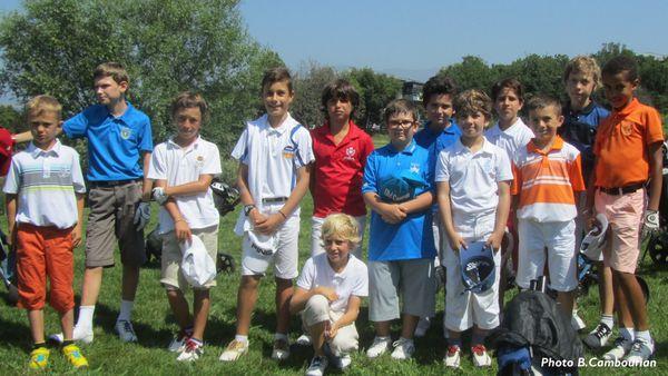 Sélection pour le Trophée du Jeune Golfeur.