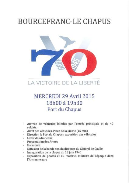 Manifestation patriotique au port de Bourcefranc Le Chapus