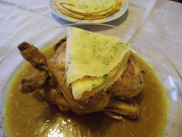 Poulet me'fened