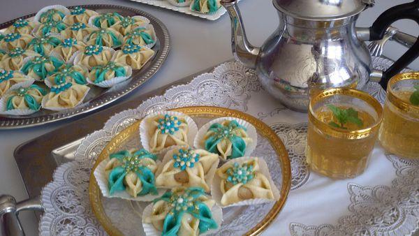 El yasmina aux amandes ( pâtisserie algérienne )