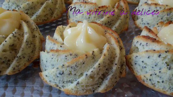 Petits moelleux au citron et pavot, Recette autour d'un ingrédient #16