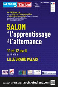 Salon de l' Alternance Lille 59 - 11 et 12 avril 14