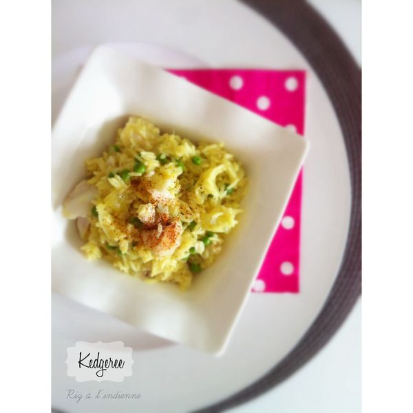 Kedgeree ou Riz à l'indienne