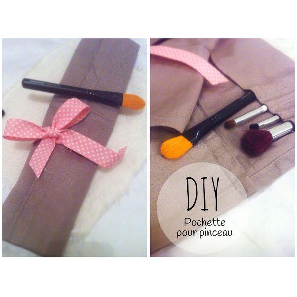 DIY Pochette pour Pinceau (Nouvelle Rubrique Couture)