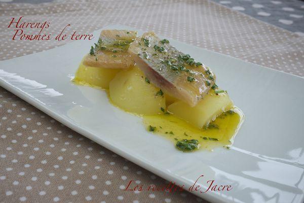 Salade de harengs sur pommes de terre