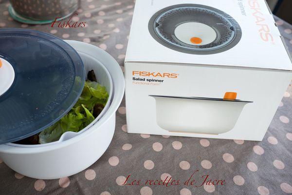 Thon à la Provençale et salade feuilles de chêne