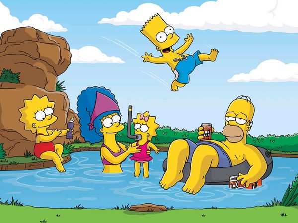 On Connait la fin des Simpson!