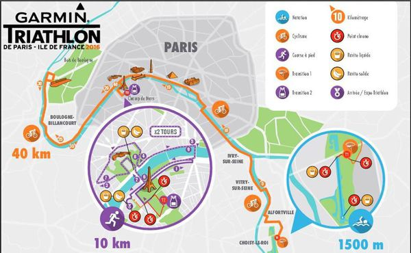 Garmin triathlon de Paris: CR