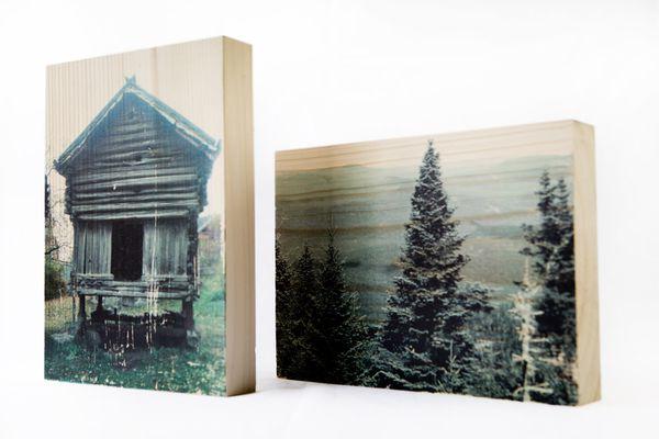 Photowood : votre photo sur un beau bloc de bois