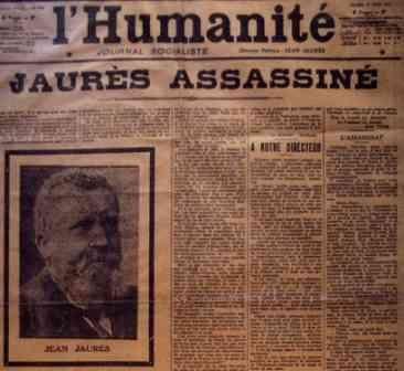 Ils ont tué Jaurès…
