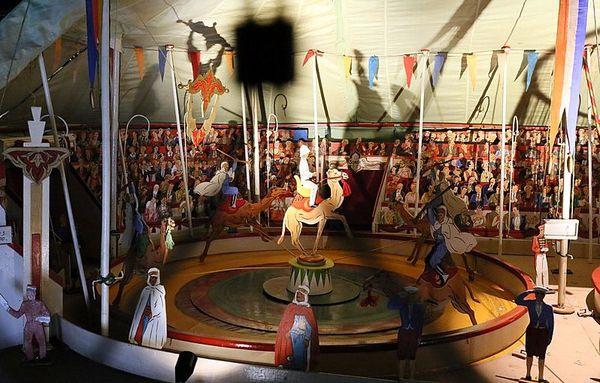 Une merveille: la Maquette de l'Univers Circus au Mucem