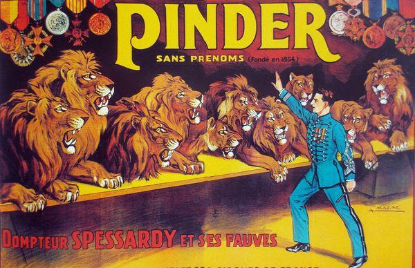 Roger Spessardy un dompteur né, sous le signe du lion