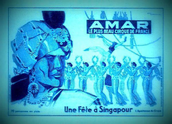 Une fête à Singapour chez Amar