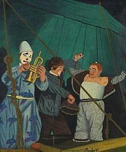 Camille Bombois (1883-1970) un peintre aimant les clowns