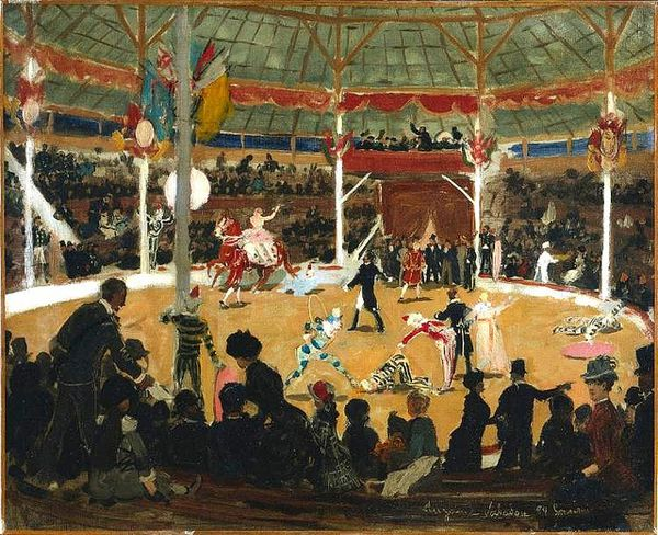 Le Cirque, (Cleveland Museum of Art)