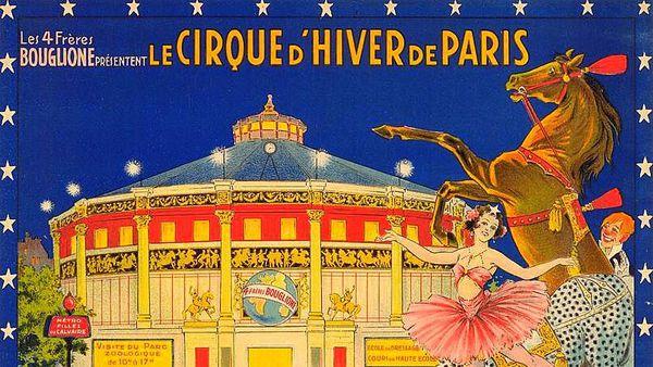 Vente aux enchères au Cirque d'Hiver de Paris