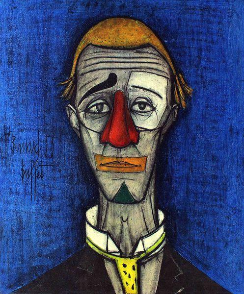 Le clown du Cirque Medrano (Genève, Petit Palais, Musée D'Art Moderne)