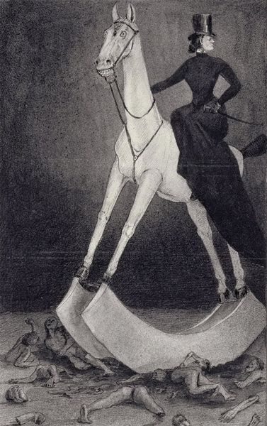 Kubin Alfred - The Lady on the Horse