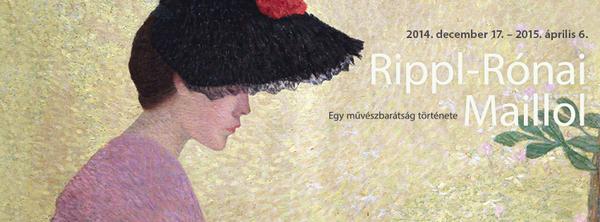 Rippl-Ronai et Maillol - une histoire d'amitié à la Galerie Nationale de Budapest jusqu'au 6 avril 2015
