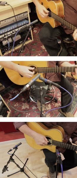 Comment placer les micros en &quot&#x3B;home recording&quot&#x3B;