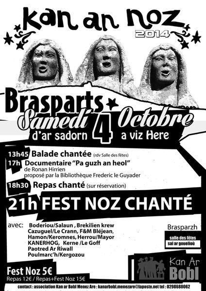 Kann an noz le 4 octobre à Brasparts..