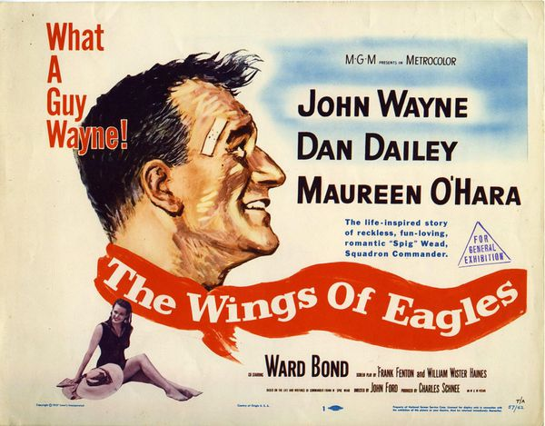The wings of eagles (John Ford, 1956)