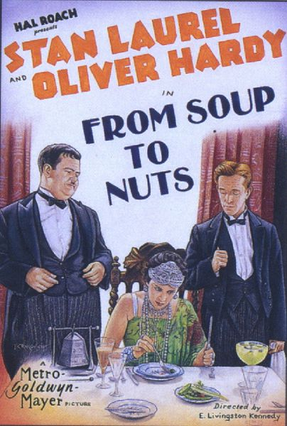 From soup to nuts (Edgar L. Kennedy, 1928)