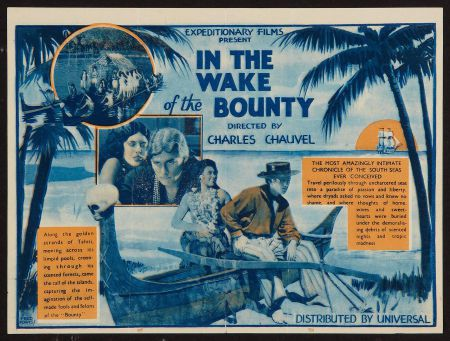 In the wake of the Bounty (Charles Chauvel, 1933)