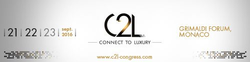 IoT au Congrès Connect to Luxury - C2L- Luxe Pack Monaco 21 au 23 septembre