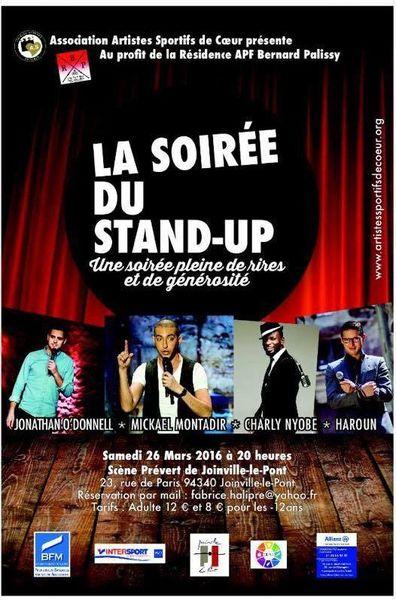 Joinville-le-Pont :Spectacle au profit de l'APF ce samedi soir.