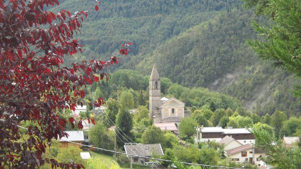 Les églises dans la Vésubie