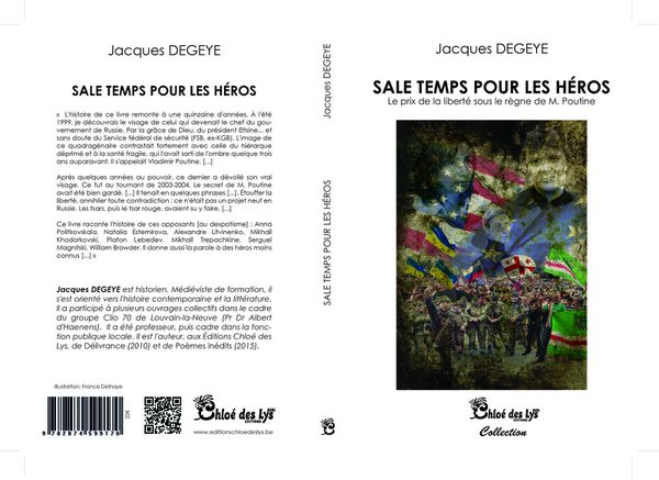 Christine Brunet a lu &quot&#x3B;Sale temps pour les héros&quot&#x3B; de Jacques Degeye
