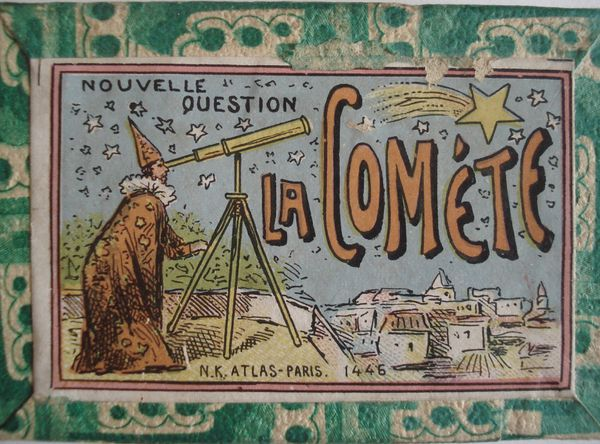 avec la comète sondons le passé...