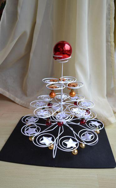 Muffinhalter-Weihnachtsbaum / Sapin de Noël revisité
