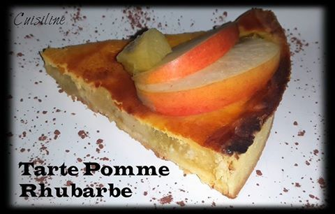 Tarte Pomme/Rhubarbe