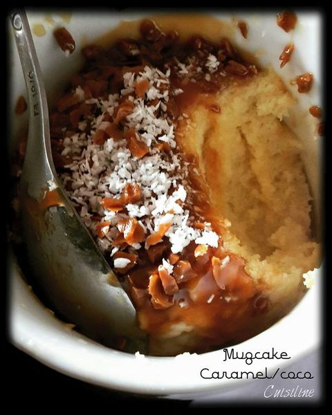 Mugcake Caramel/Coco