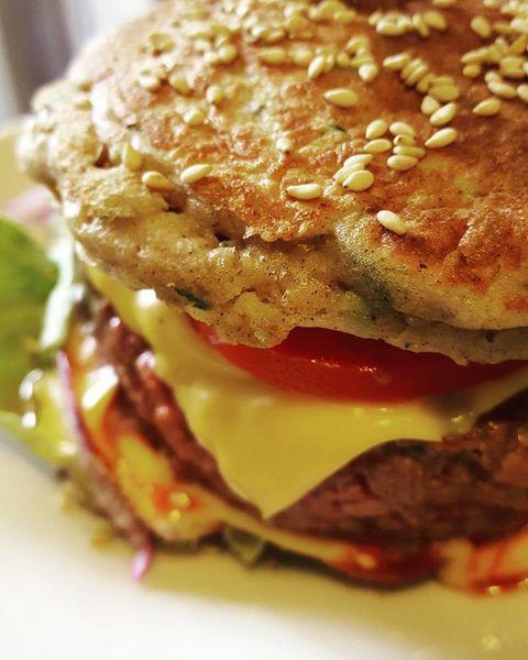 Burger sans pain