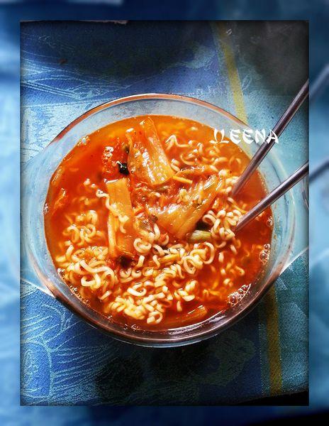 Soupe au Kimchi
