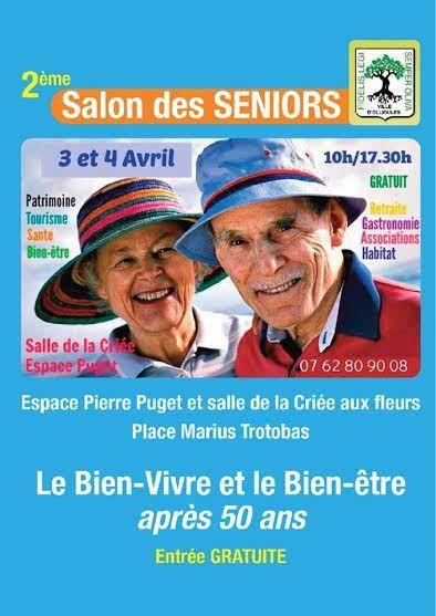 Ouest var ollioules vendredi 3 et samedi 4 avril 2 for Salon des seniors