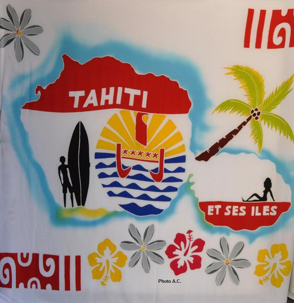 Le drapeau tahitien flotte sur Six-Fours
