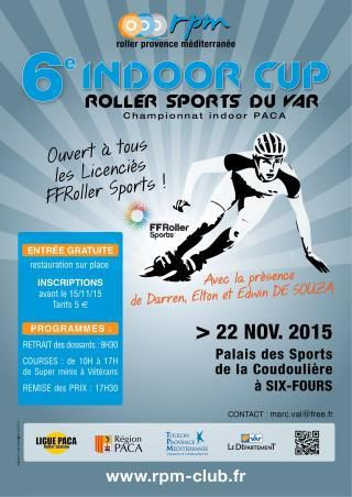 Six-Fours/Sports/Roller : 6è  Indoor Cup du Var