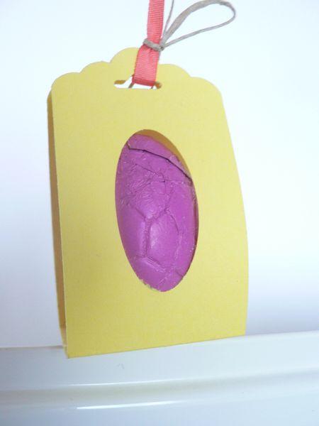 pochette pour oeuf de pâques avec stampin'up