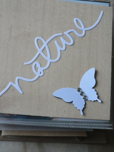 page mini album simply created stampin'up