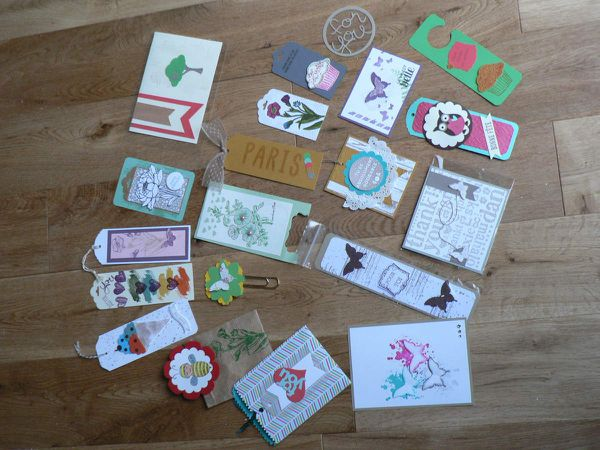 swaps stampin'up et convention nationale 2