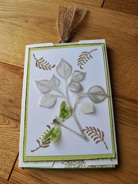 carte stampin'up