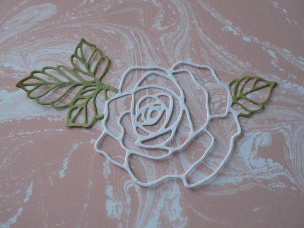Dies rose garden de stampin'up