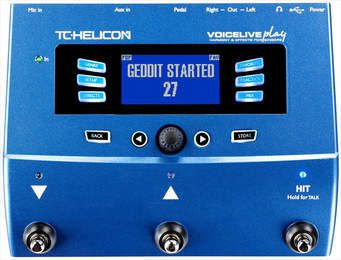 Matos d'EVA : TC-Helicon VoiceLive