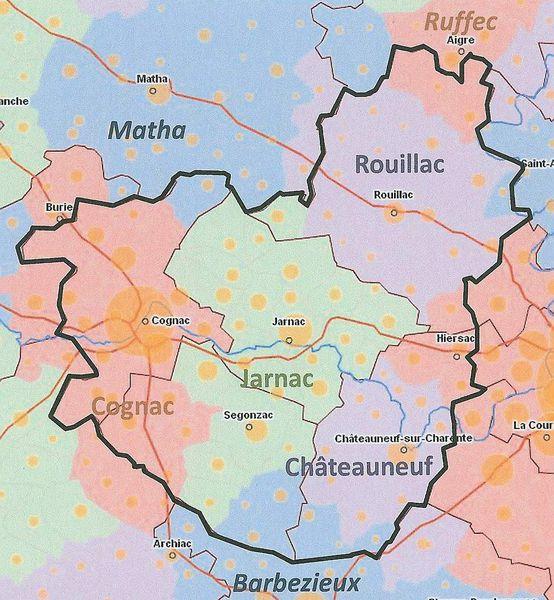 Grand Cognac : Pour la fusion des 5 Communautés de communes