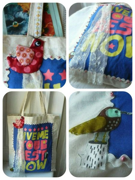 Customiser un tote bag avec un t-shirt.