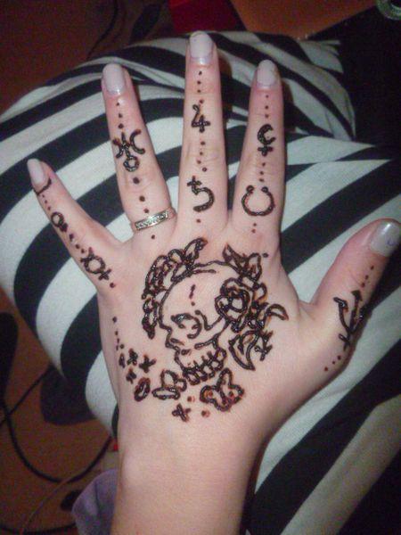 Motif au henné